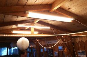 LED-Sonderlösung: Mit Ambiente und Licht im Dunkeln.